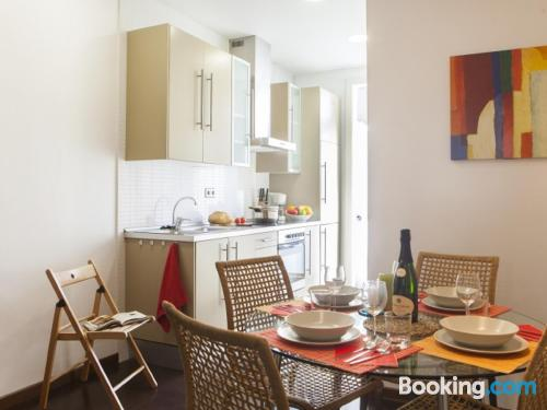 1 bedroom apartment in Barcelona with heating and wifi