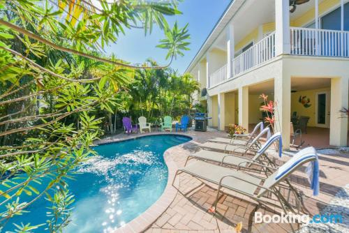 Enormous home with 3 bedrooms. Best location and swimming pool.