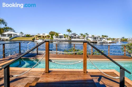 Three rooms apartment in Mooloolaba with terrace.