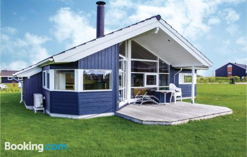 Three room home in Eskebjerg for families