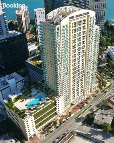 1 bedroom apartment in Miami with air-con