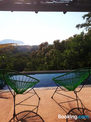 Place in Zihuatanejo. Dog friendly