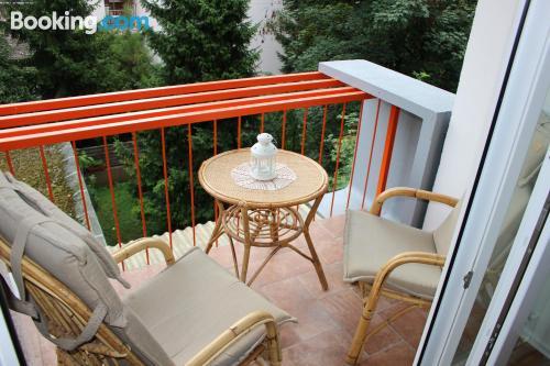 Apartamento con terraza en Liubliana.