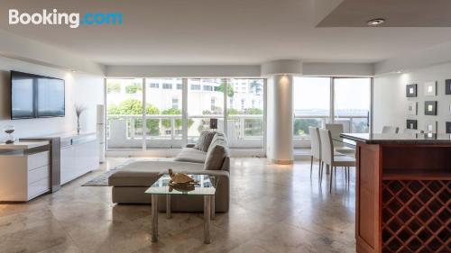 Miami home with two rooms.