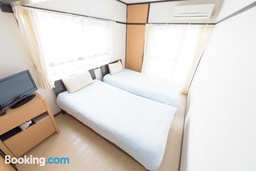 Apartamento de una habitación en buena ubicación con terraza y conexión a internet