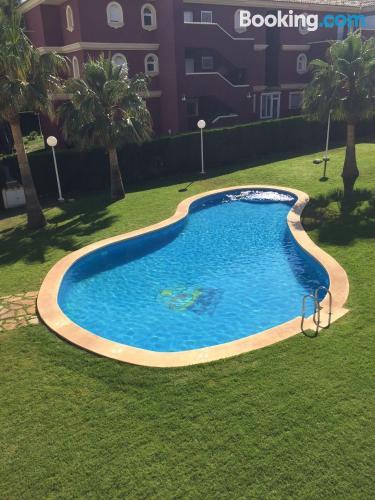Apartamento con piscina en Alcossebre