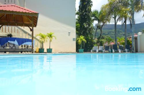 Home for couples in Beau Vallon with air