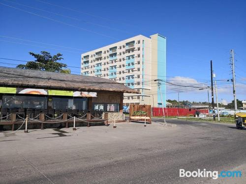 Two rooms place in Dumaguete ideal for six or more.