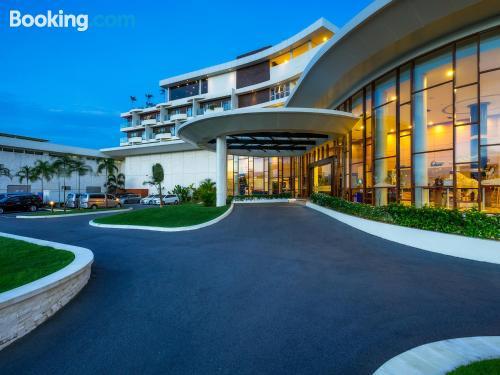 Apartamento de 37m2 en Lagoi con piscina