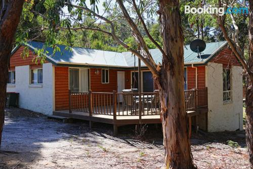 Place in Coles Bay. Perfect for groups