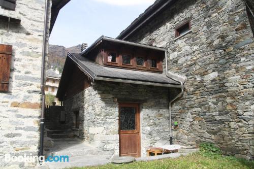 Apartamento en zona increíble apto para animales en Alagna Valsesia