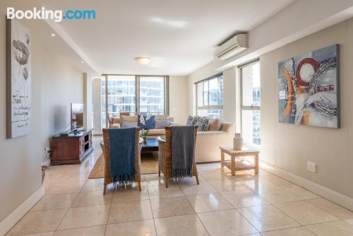 2 bedrooms, amazing location. Be cool, there\s air-con!