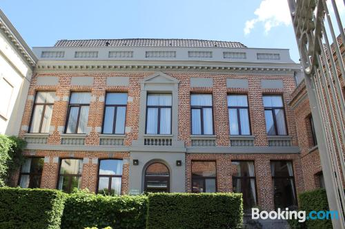 Dog friendly home in Tournai in superb location. Experience!