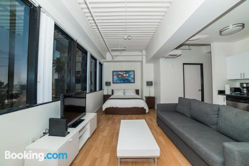 Place with air. 61m2!
