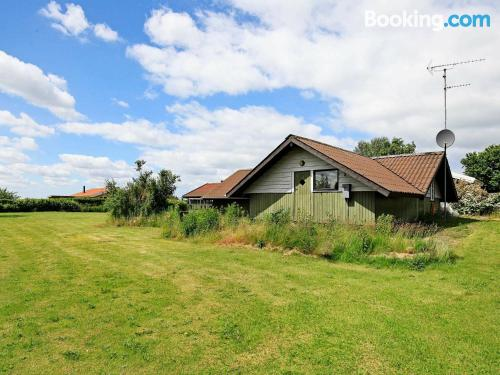 Three bedroom place in Skibby. Great!