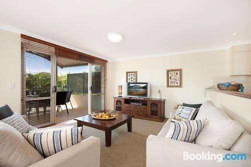 Apartamento de tres habitaciones. Perfecto para cinco o más!.