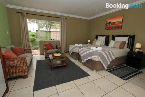 Home in Benoni. Cot available