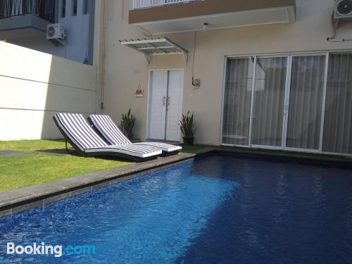 Good choice, 2 bedrooms with terrace.