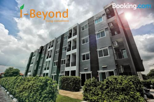 Good choice one bedroom apartment with terrace and internet
