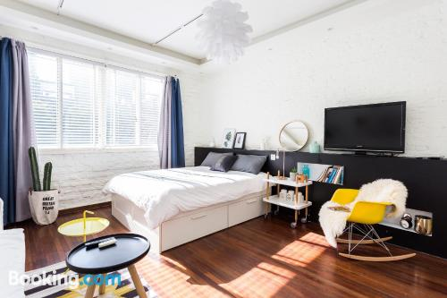 Gran apartamento de dos habitaciones en Shanghai