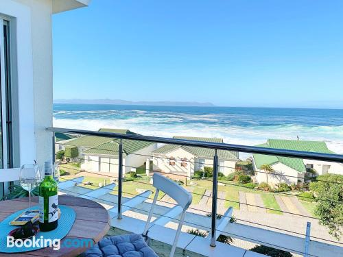 Home for 2 people in Hermanus with terrace.