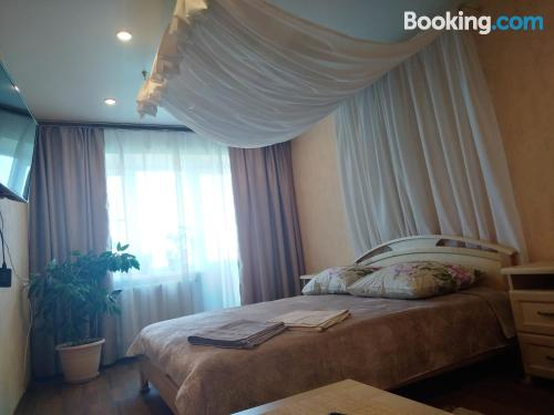 One bedroom apartment place in Kineshma with wifi.