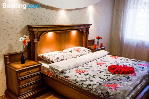 Pet friendly apartment in Soligorsk. Large!