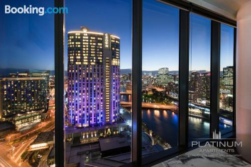 Apartment in Melbourne. Terrace!.
