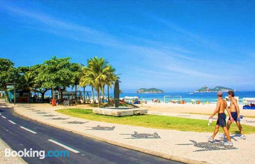 Home for 2 in Rio de Janeiro. Be cool, there\s air!