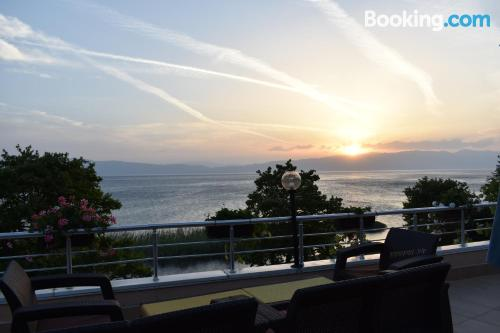 Place for two people in Ohrid with terrace