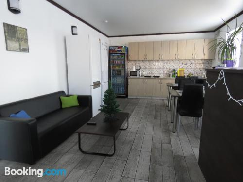 Great 1 bedroom apartment with terrace and wifi.