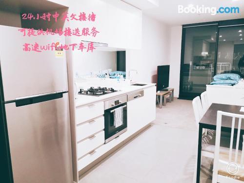Apartamento con aire acondicionado en Box Hill.