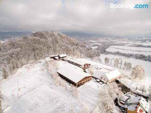 Amazing location in Rožnov pod Radhoštěm. With terrace and wifi