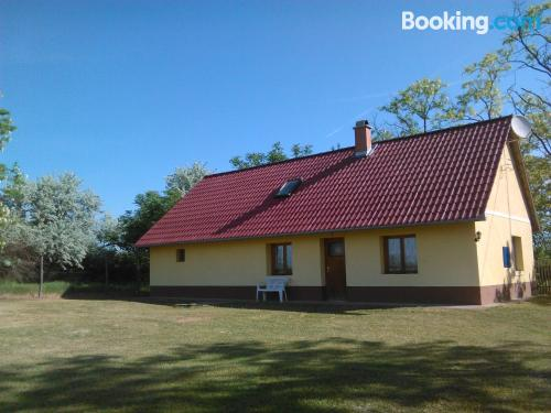 Large place in Kiskunmajsa. Ideal for families