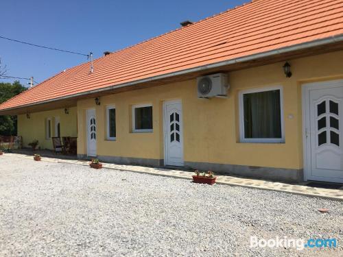 Apartamento con terraza en Sárospatak.