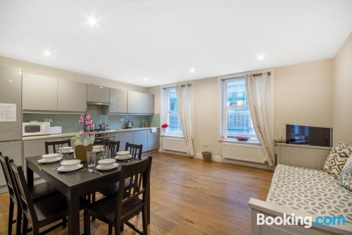 London apartment. Good choice for groups