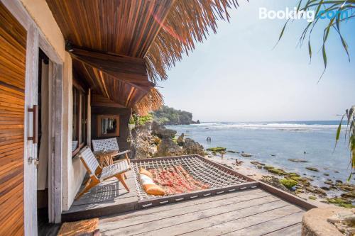 Apartamento para parejas con terraza y internet