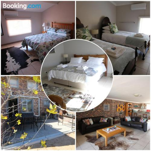 Animals allowed apartment in Clanwilliam. Huge and great location