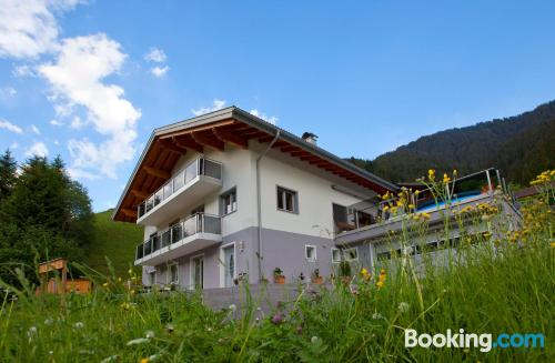 One bedroom apartment in Silbertal with heat