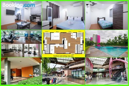Apartamento en Ban Talat Rangsit. Perfecto para familias.