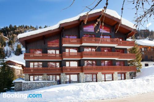 Belle Plagne home with wifi.