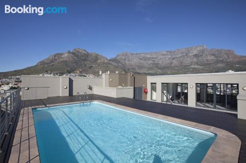 Home for two people in downtown of Cape Town