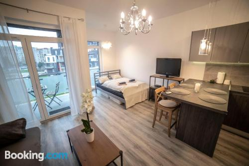 One bedroom apartment home in Budapest with wifi and terrace.