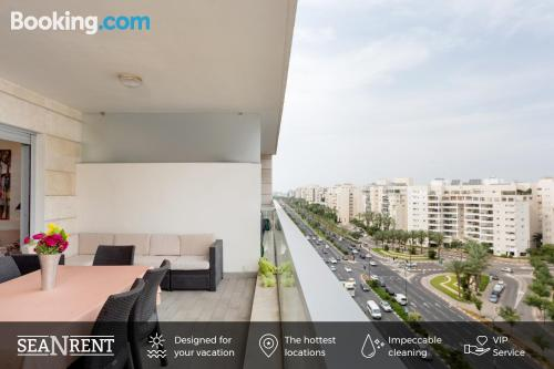 Apartment with terrace. Air!