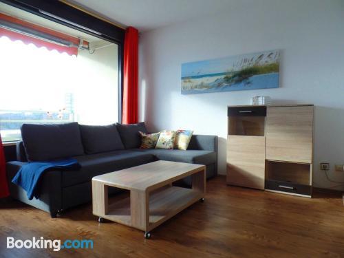 Gran apartamento de dos dormitorios en Sierksdorf