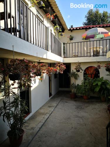 Apartment for two people in Antigua Guatemala with terrace