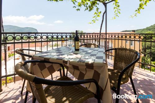 Place in Petrovac na Moru. Enjoy your terrace