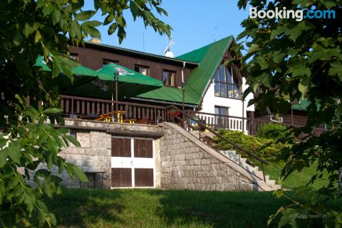 Place for two people in Benecko with pool and terrace