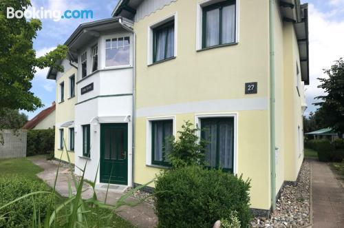 Acogedor apartamento en Trassenheide