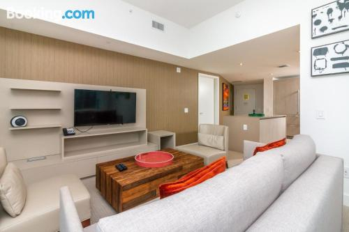 Swimming pool and internet place in Hallandale Beach with air.